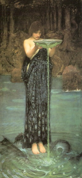 John William Waterhouse Circe envidiosa
